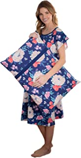 Gownies - Labor and Delivery Hospital Gown and Matching Pillowcase-Labor Kit