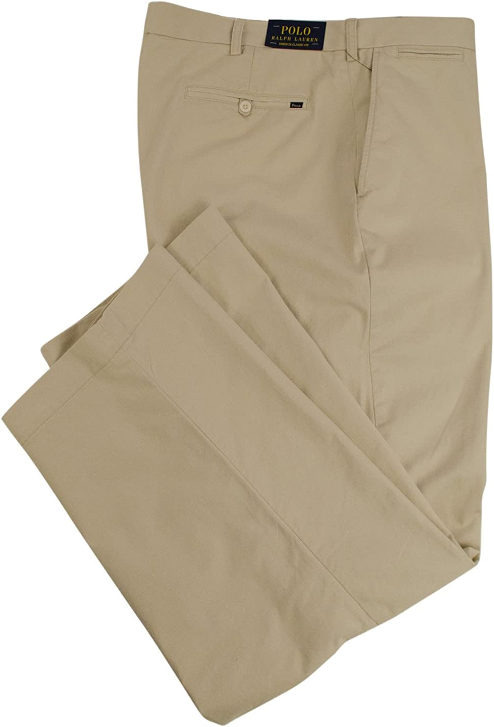 Polo Ralph Lauren Men's Big and Tall Classic Fit Stretch Chino Pants