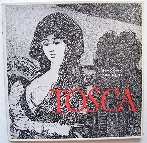 Puccini: Tosca (Gesamtaufnahme in deutscher Sprache) [Vinyl Schallplatte] [Doppel-LP]