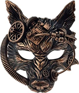 steampunk wolf mask