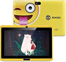 Kinder Tablet SIXGO 7 Zoll Android Pads Kleinkind Tablet Kids Edition Tablet mit WiFi..