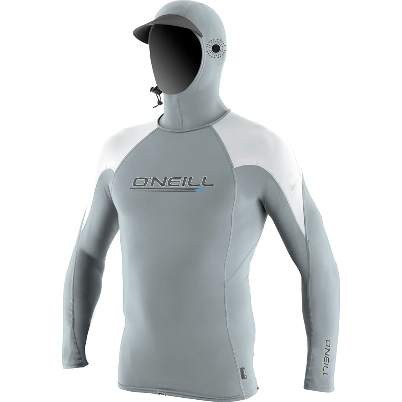 O'Neill   Men's Premium Skins O'zone UPF 50+ Long Sleeve Sun Shirt With Hood