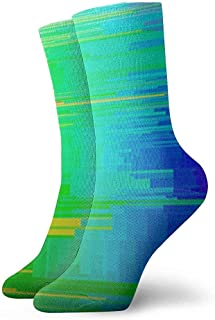 iuitt7rtree Calcetines Deportivos Rainbow ColorSocks Soft Warmer Stockings (30Cm)