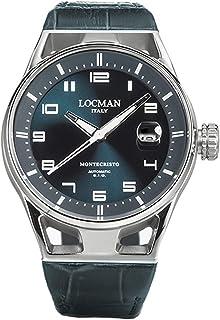 Locman - Italy Montecristo - Reloj automático para hombre, color verde 0541