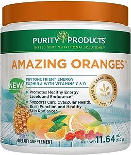 Amazing Oranges Powder 30 day supply   Power Packed w/Vitamin C, Vitamin D, Calcium, Magnesium, Potassium, Fiber, Electrol...