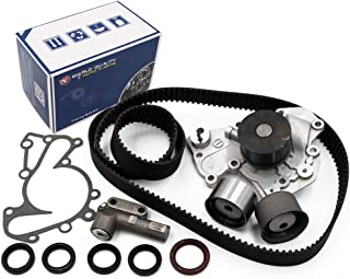 Timing Belt Kit Water Pump w/Gaskets Tensioner for 1999-2010 HYUNDAI SONATA/