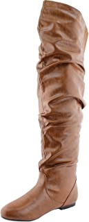 Nature Breeze Women's Stretchy Thigh High Boot