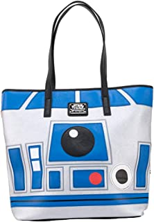 Loungefly x Star Wars R2 D2 BB 8 Two Sided Tote Bag
