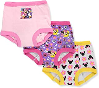 Girls' Toddler Minnie Mouse 3pk Potty Training Pant,...
