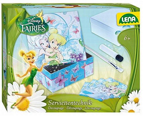 Lena 42583 - Serviettentechnik Disneys Fairies