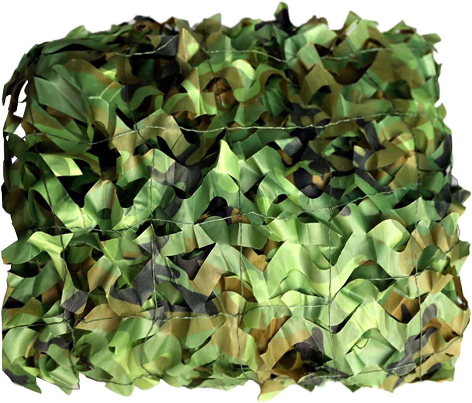 Woodland Camo Netting, Camouflage Netting UV Resistant Shade for Camping Hunting Shooting Military Party Decoration Themed Restaurant Decor