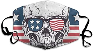Thuth Skull Dust-Proof Washable Mask - Reusable Mask - Suitable for Men and Women's Masks
