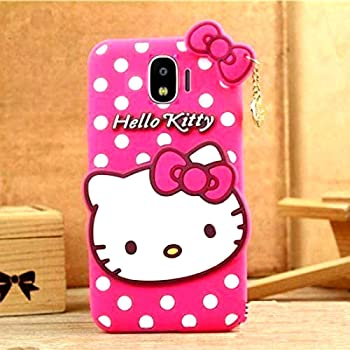 Trifty Girl S Back Cover Hello Kitty Silicon With Amazon In Electronics