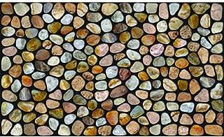 Apache Mills Master Piece Pebble Beach Door Mat, 22-Inch by 36-Inch