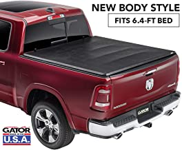 Gator ETX Soft Tri-Fold Truck Bed Tonneau Cover | 59422 | fits Dodge Ram 2019 (6 ft 4 in bed), New Body Style
