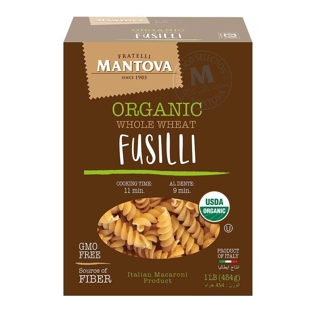 Mantova Italian Jacksonville Mall Organic Whole Wheat Spirali - Durum S Direct store Pasta 100%