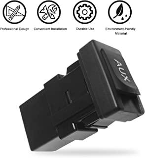 Travay AUX Port Auxiliary Stereo Jack Adapter Compatible with 2007-2010 Lexus ES350,LS460,2005-2009 Toyota 4Runner,2007-2008 Toyota Camry,2005-2009 Toyota Prius 86190-06010