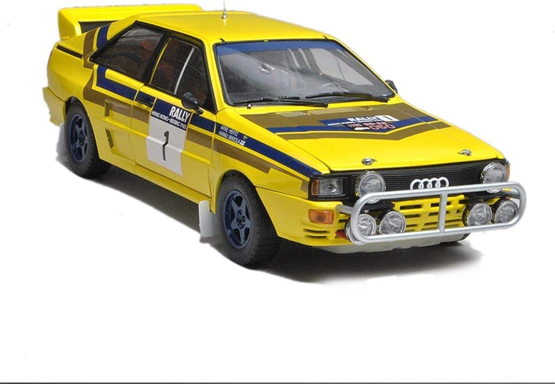 en promociones de estadios Maisto Audi A2 A2 A2 Rally Racing Modelo 1 18 1985 Audi QUATTRO A2 Simulación de Aleación de Juguete Modelo de Coche de Metal Colección de Decoración de Coche de Metal Modelo de Coche Modelos Escala Vehícul  entrega rápida