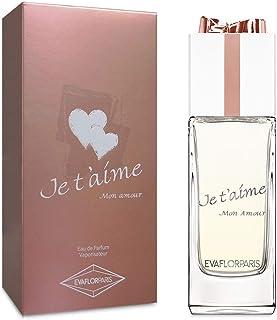 JE TAIME MON AMOUR • Eau de Parfum 100 ml • Vaporizador • Perfume para mujer • EVAFLORPARIS