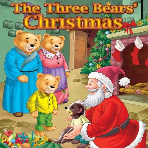 Santa Claus and Baby Bear