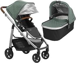 UPPAbaby Full-Size Cruz Infant Baby Stroller & Bassinet Bundle (Emmett)