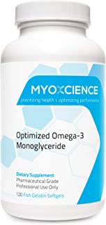 MonoSorb 1300 | Extra Strength Fish Oil | 600 mg EPA | 260 mg DHA | Monoglyceride Form | IFOS Certified | Enteric Coated |...