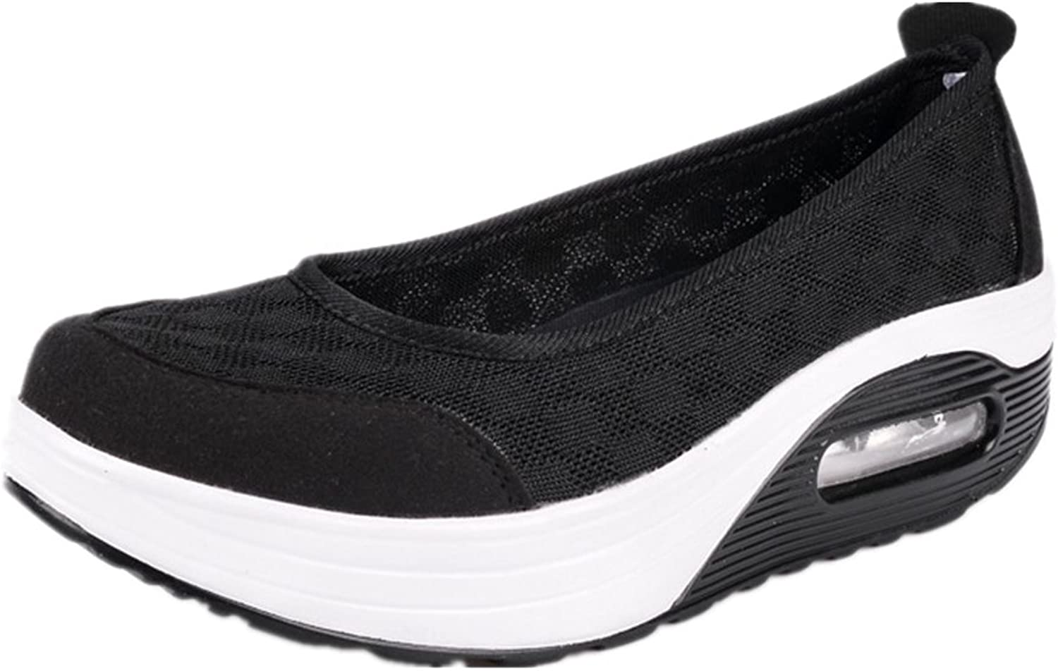 Believed Women Sneakers Comfort Slip On Wedges shoes Breathable Mesh Walking shoes for Women