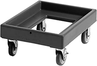Cambro CD300110 Black Camdollies Food Box Dolly for Camcarriers