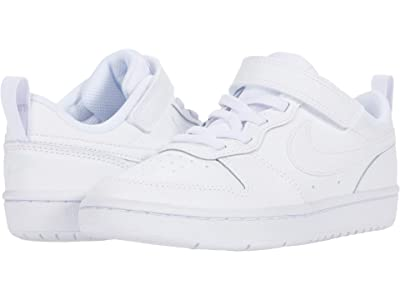 Nike Kids Court Borough Low 2 (Little Kid) Boys Shoes
