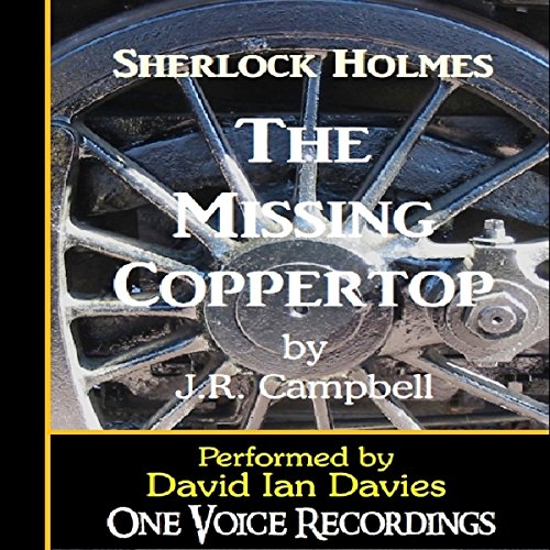The Missing Coppertop audiobook cover art