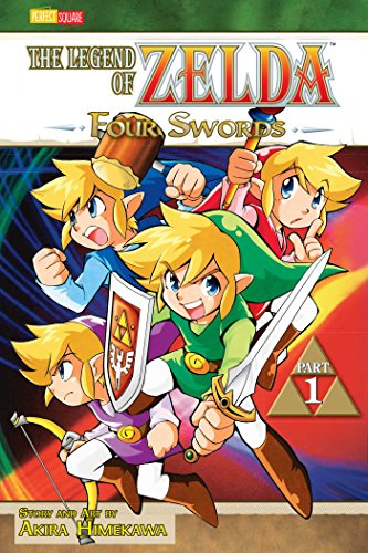 LEGEND OF ZELDA GN VOL 06 (OF 10) (CURR PTG) (C: 1-0-0): Four Swords - Part 1 (The Legend of Zelda, Band 6)