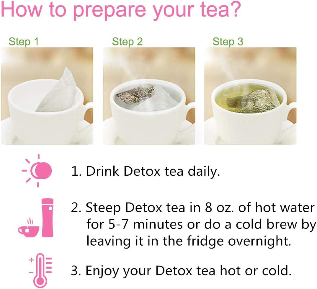 what is detox tea do