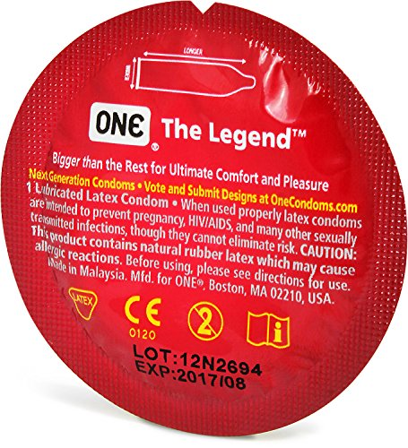One The Legend Extra Large Condoms Bulk 24 Pack