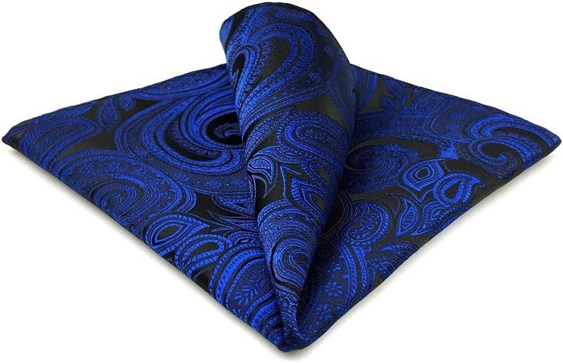 SLATIOM Mens Pocket Square Wedding Translated Hanky Silk Handkerchief Party 2021 model