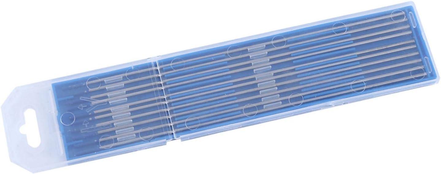 /électrodes de soudage au tungst/ène tiges d/électrode /électrodes de soudage /à pointe bleue pour fournitures industrielles 1.0 * 150mm /Électrodes TIG