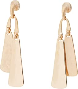 Large Double Stick Earrings