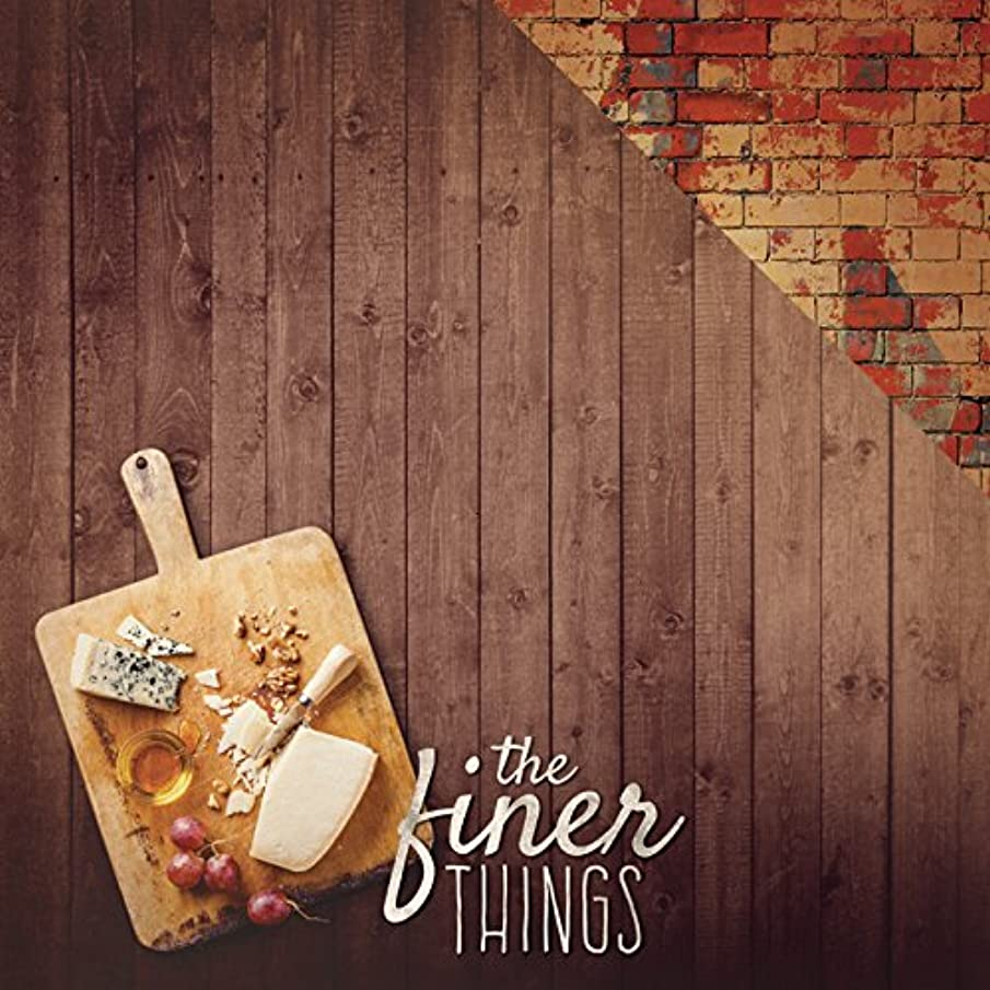 PAPER HOUSE P-2024E 15 Sheet Finer Things Delish Double-Sided Cardstock, 12
