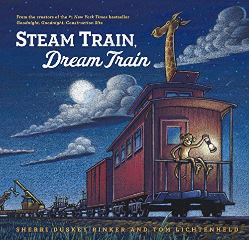 Steam Train, Dream Train (Easy Reader Books, Reading Books for Children)