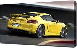Lilarama USA 2016-Porsche-Cayman-GT4-V8 Canvas Art Print - Wall Art - Canvas Wrap