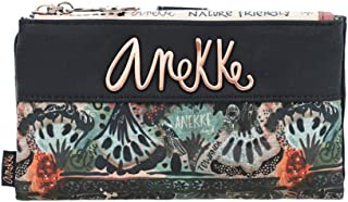 Anekke - Billetero Monedero Mediano Blando Mujer Anekke Ixchel Nature Edición Marino