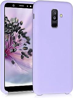 kwmobile telefoonhoesje compatibel met Samsung Galaxy A6+/A6 Plus (2018) - Hoesje met siliconen coating - Smartphone case ...