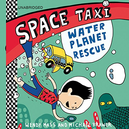 Space Taxi: Water Planet Rescue audiobook cover art