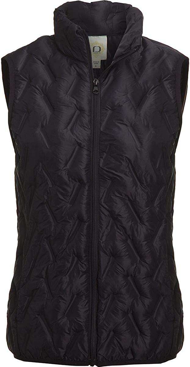 Women Owned Tangerine Light Weight Vest Color: Black (S)