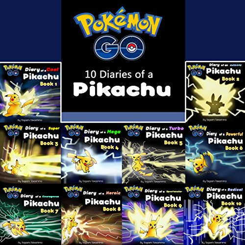 Pokemon Go: 10 Diaries of a Pikachu in 1 audiobook cover art
