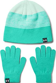 Under Armour Girls' Beanie Glove Combo