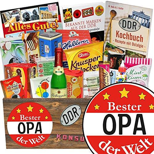Bester Opa / Ost-Süßigkeiten für Männer / Geschenkidee Geburtstag