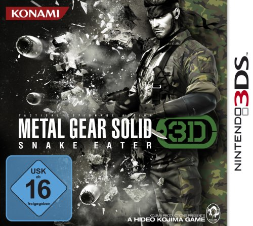 Metal Gear Solid - Snake Eater 3D [Edizione: Germania]