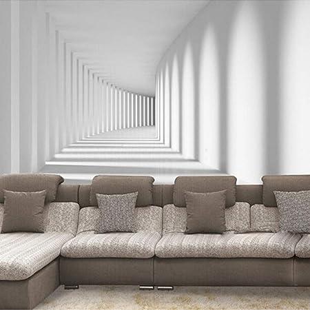 Papier Peint Mural Personnalise Mur Papier Peint 3d Abstrait Moderne Passale Murale Photo Papier Peint Pour Canape Salon Fond Home Decor Mur Papier 280cm H 460cm W Amazon Fr Bricolage