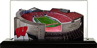 Home Fields Wisconsin Badgers Camp Randall Stadium, Small Lighted in Display Case