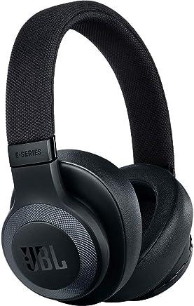 JBL Lifestyle E65BTNC Over-Ear Bluetooth Noise-canceling Headphones - Black